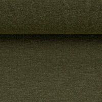 French Terry Swafing Maike khaki green melange