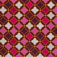 Canvas Baumwollstoff Swafing Grand Ornaments bordeaux by...