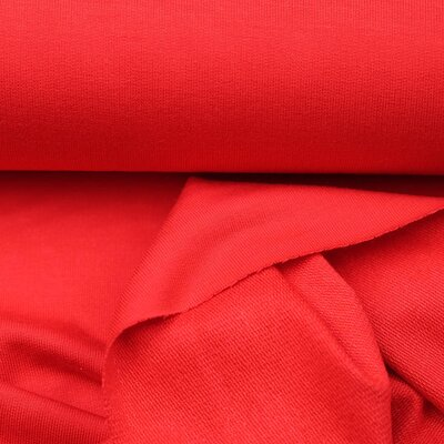 Organic French Terry, Summersweat Bamboo red