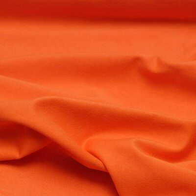 Organic Jersey extra wide orange